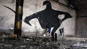 Crumbling Wall Turned Into Powerful Tribute To Captive Orcas