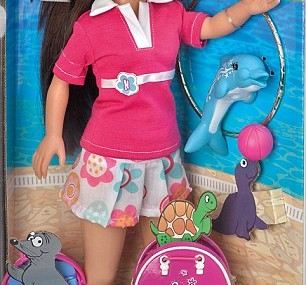 Animal rights campaigners demand 'Nancy the dolphin carer' dolls are removed from shelves